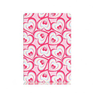 Peach Heart Style Tablet Case for Lenovo Tab2 A10   70F   Tab3 TB3   X70F
