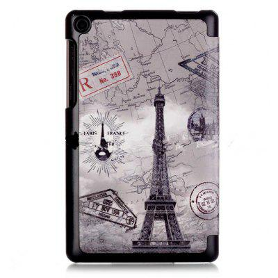 Eiffel Tower Pattern Protective Case for Lenovo Tab3 7 Essential