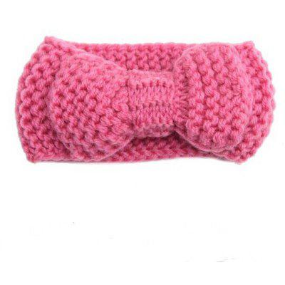 Baby Girl Knitting Bow Headband