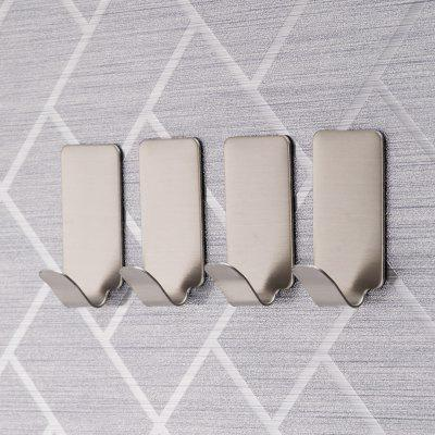 10pcs YS - 2 Stainless Steel Medium Size Sticky Hook