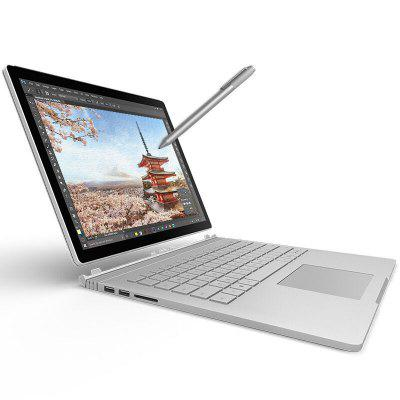 Microsoft Surface Book 16GB + 1TBLaptops<br>Microsoft Surface Book 16GB + 1TB<br><br>3.5mm Headphone Jack: Yes<br>AC adapter: 110-240V / 15V 6.33A<br>Back camera: 8.0MP<br>Battery / Run Time (up to): 16 hours video playing time<br>Bluetooth: 4.0<br>Brand: Microsoft<br>Caching: 3MB<br>Camera type: Dual cameras (one front one back)<br>Charger: 1<br>Charging Time.: 5-6 hours<br>Core: 2.4GHz, Quad Core<br>CPU: Intel Core i7-6600U<br>CPU Brand: Intel<br>CPU Series: Core i7<br>Display Ratio: 3:2<br>English Manual : 1<br>Facial Recognition: Supported<br>Front camera: 5.0MP<br>Graphics Capacity: 2G<br>Graphics Chipset: NVIDIA GeForce GTX 965M<br>Graphics Type: Graphics Card<br>Hard Disk Interface Type: SATA<br>Hard Disk Memory: 1T<br>Languages: Windows OS is built-in Chinese and English, and other languages need to be downloaded by WiFi.<br>MIC: Supported<br>Mini DP Port: Yes<br>Model: Surface Book<br>MS Office format: Excel, Word, PPT<br>Notebook: 1<br>OS: Windows 10<br>Package size: 43.00 x 33.20 x 5.40 cm / 16.93 x 13.07 x 2.13 inches<br>Package weight: 3.8600 kg<br>Picture format: BMP, JPG, PNG, JPEG, GIF<br>Power Consumption: 7.5W<br>Process Technology: 14nm<br>Product size: 31.23 x 23.21 x 1.30 cm / 12.3 x 9.14 x 0.51 inches<br>Product weight: 1.6470 kg<br>RAM: 16GB<br>RAM Slot Quantity: One<br>RAM Type: DDR4<br>Screen resolution: 3000 x 2000<br>Screen size: 13.5 inch<br>Screen type: Capacitive (10-Points), PixelSense<br>SD Card Slot: Yes<br>Skype: Supported<br>Speaker: Dolby Audio Premium<br>Threading: 8<br>Touch pen: 1<br>USB Host: Yes (2x USB 3.0 Host)<br>WIFI: 802.11a/b/g/n/ac wireless internet<br>WLAN Card: Yes<br>Youtube: Supported