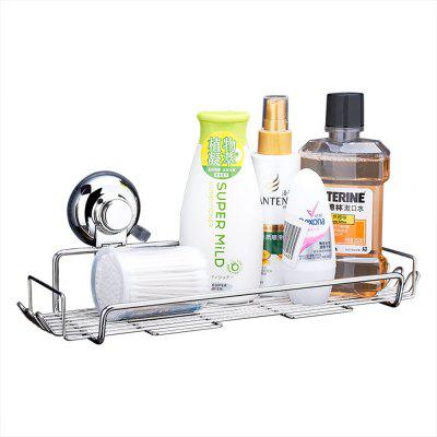 CW813 Stainless Steel Suction Cup Storage Basket