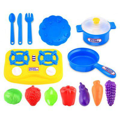 15pcs Kids Pretend Role Play Educational Kitchen Toy Set -$5.42 ...