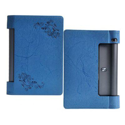 Tablet PC PU Leather Protective Engraved Cover for Lenovo Yoga YT3   850F   850M