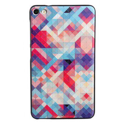 Colorful Grid Style TPU Back Case for Huawei MediaPad M2 Lite 7.0