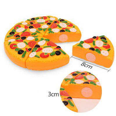 Fruit and Vegetable Pizza ToyPretend Play<br>Fruit and Vegetable Pizza Toy<br><br>Appliable Crowd: Girls<br>Materials: ABS<br>Nature: Other<br>Package Contents: 1 x Set of Simulate Pizza Toys<br>Package size: 20.00 x 20.00 x 5.00 cm / 7.87 x 7.87 x 1.97 inches<br>Package weight: 0.1050 kg<br>Product size: 17.00 x 17.00 x 3.00 cm / 6.69 x 6.69 x 1.18 inches<br>Product weight: 0.0800 kg