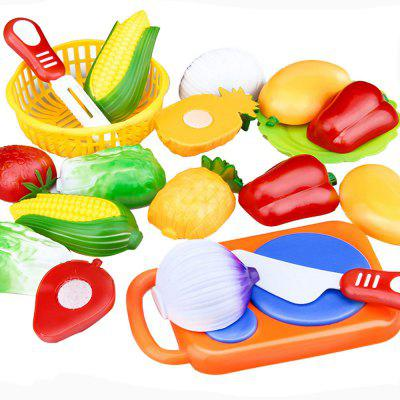12pcs Kitchen Toys Fruit Cut Tool