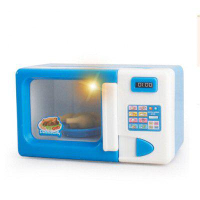Mini Cute Microwave Oven Pretend Play Toy