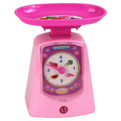 Cute Plastic Electronic Scale Pretend Play Toy