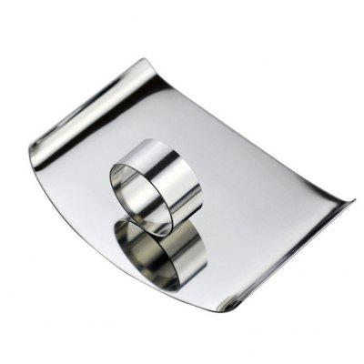 Stainless Steel Cut Vegetable Finger ProtectorOther Kitchen Accessories<br>Stainless Steel Cut Vegetable Finger Protector<br><br>Material: Stainless Steel<br>Package Contents: 1 x Finger Protector<br>Package size (L x W x H): 8.50 x 6.00 x 2.50 cm / 3.35 x 2.36 x 0.98 inches<br>Package weight: 0.0480 kg<br>Product size (L x W x H): 8.50 x 6.00 x 2.50 cm / 3.35 x 2.36 x 0.98 inches<br>Product weight: 0.0280 kg<br>Type: Other Kitchen Accessories