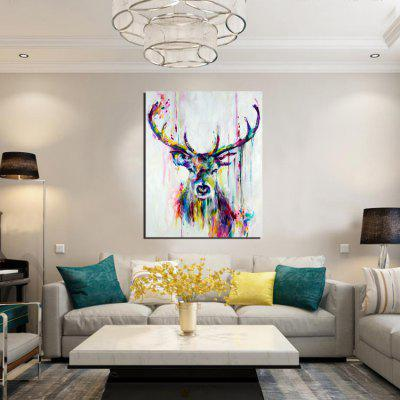 Buy MULTI Deer Painting Sticker for $1.80 in GearBest store
