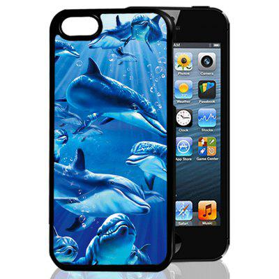 Buy COLORMIX 3D Emboss Dolphin Phone Cover for iPhone 7 Plus for $2.44 in GearBest store