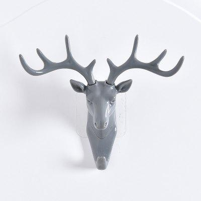 BW-143 Creative Deer Head Adhesive Hook