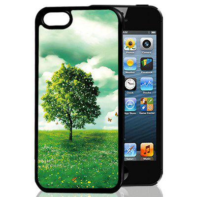 Buy COLORMIX 3D Emboss Greenery Phone Cover for iPhone 6 / 6s for $2.34 in GearBest store