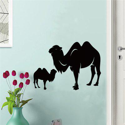 D063 Wall Decorate StickerWall Stickers<br>D063 Wall Decorate Sticker<br><br>Art Style: Plane Wall Stickers<br>Color Scheme: Black<br>Material: Vinyl(PVC)<br>Package Contents: 2 x DIY Wall Stickers<br>Package size (L x W x H): 41.00 x 4.00 x 4.00 cm / 16.14 x 1.57 x 1.57 inches<br>Package weight: 0.1300 kg<br>Product weight: 0.0800 kg<br>Subjects: Animal