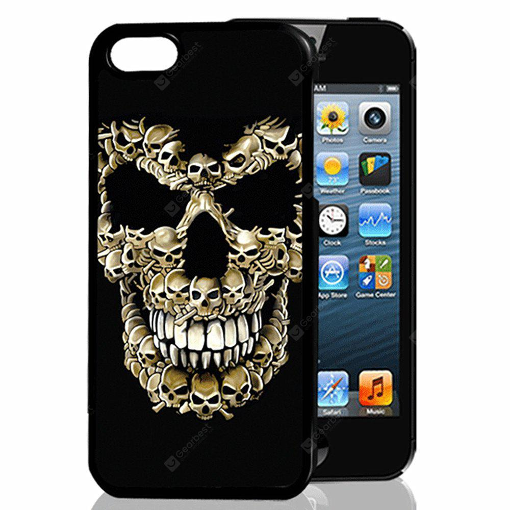 Buy Yellow Skull 3D Relief TPU Phone Case COLORMIX