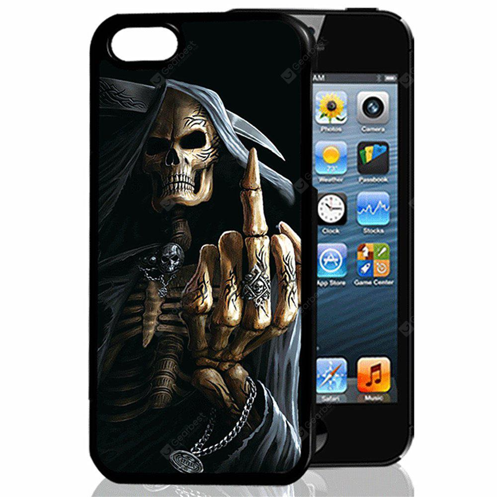 Buy 3D Relief Middle Finger TPU Phone Case COLORMIX