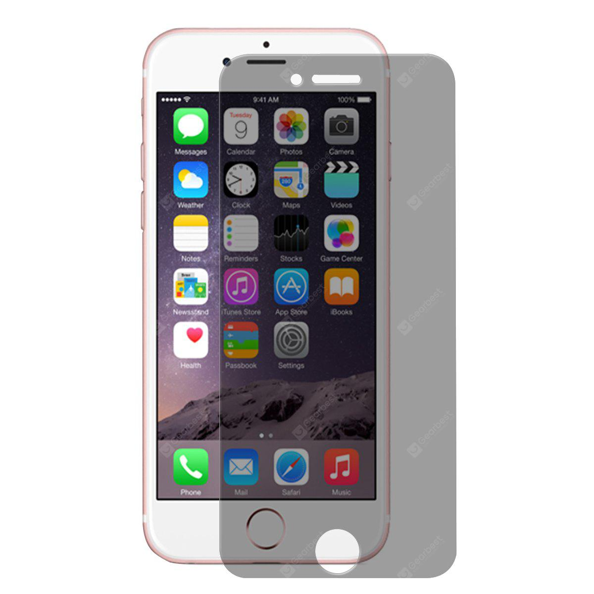 ENKAY 10PCS Tempered Glass Privacy Film for iPhone 7 Plus