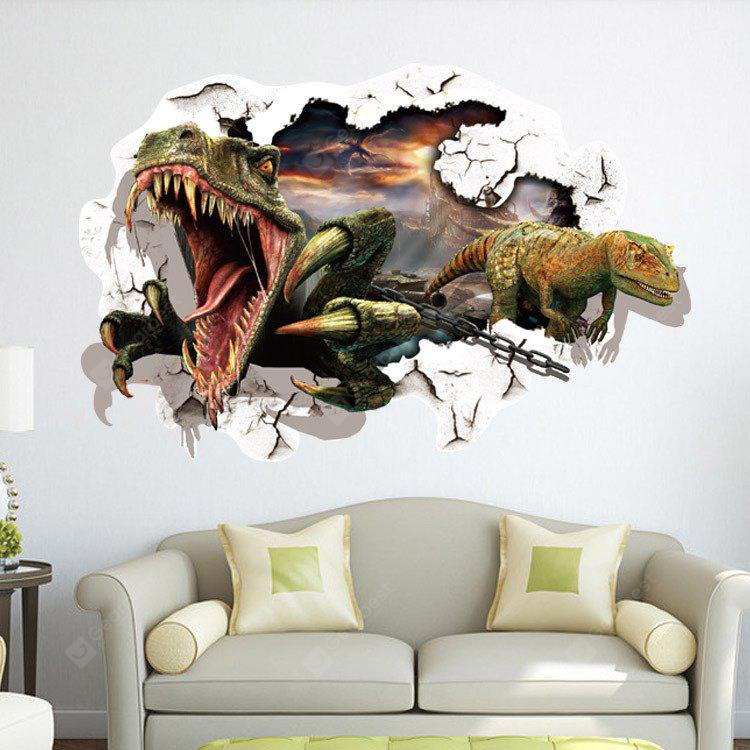 3D Dinosaurs Design Sticker da parete
