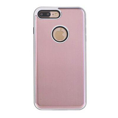 Buy PINK Ultra-thin Metal Faddish Style Phone Cover Case for iPhone 7 Plus for $4.87 in GearBest store