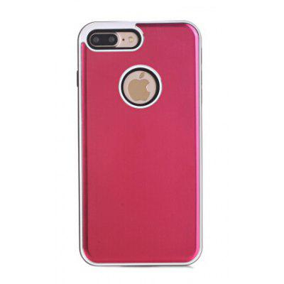 Buy RED Ultra-thin Metal Faddish Style Phone Cover Case for iPhone 7 Plus for $4.87 in GearBest store