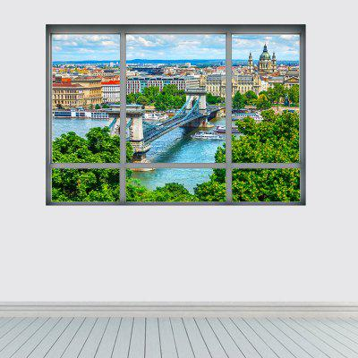 YM1049 3D Danube Cityscape Wall StickerWall Stickers<br>YM1049 3D Danube Cityscape Wall Sticker<br><br>Art Style: Plane Wall Stickers<br>Color Scheme: Multicolor<br>Function: Decorative Wall Sticker, 3D Effect<br>Material: Vinyl(PVC)<br>Package Contents: 1 x Wall Sticker<br>Package size (L x W x H): 48.50 x 4.00 x 4.00 cm / 19.09 x 1.57 x 1.57 inches<br>Package weight: 0.1500 kg<br>Product size (L x W x H): 68.00 x 48.50 x 0.10 cm / 26.77 x 19.09 x 0.04 inches<br>Product weight: 0.1100 kg<br>Quantity: 1<br>Sizes: Others<br>Subjects: Landscape<br>Suitable Space: Living Room,Pathway<br>Type: Plane Wall Sticker