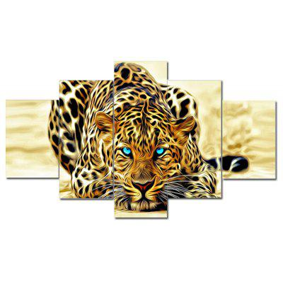 Canvas Tiger Print Wall Decor for Home Decoration