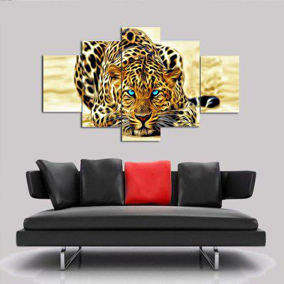 Abstract Tiger Design Home Decor Print