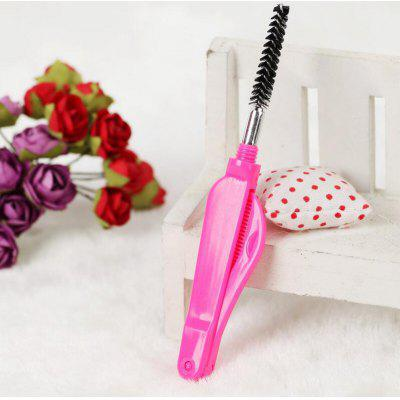1pc One-off Eyelash Brush Folding Eyebrow Comb