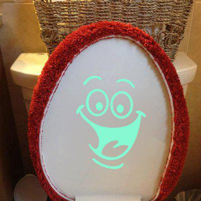 Fluorescence Creative Luminous Toilet StickerWall Stickers<br>Fluorescence Creative Luminous Toilet Sticker<br><br>Art Style: Plane Wall Stickers<br>Artists: Others<br>Color Scheme: Others<br>Function: Toilet Sticker<br>Material: Vinyl(PVC), Self-adhesive Plastic<br>Package Contents: 1 x Sticker<br>Package size (L x W x H): 18.00 x 17.00 x 1.00 cm / 7.09 x 6.69 x 0.39 inches<br>Package weight: 0.0220 kg<br>Product Type: Others<br>Product weight: 0.0200 kg<br>Quantity: 1<br>Sizes: Others<br>Subjects: Others<br>Suitable Space: Bathroom<br>Type: Plane Wall Sticker
