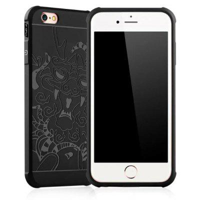 Soft Dragon Design Pattern Phone Case for iPhone 6S