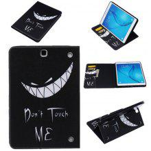Letter Cartoon Style Tablet Case for Samsung Tab T560