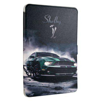 High Quality Transparent Rear Casing Sleeve Case for Samsung Tab T560 Sports Car Cartoon