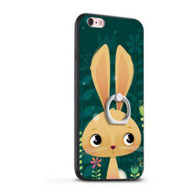 Relief Cartoon Rabbit TPU Phone Case