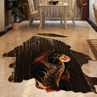 3D Wall Decals Style Floor Dinosaur PVC Wall Sticker 222368101