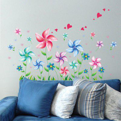 DSU Creative Cartoon Windmill Wall Sticker WallpaperWall Stickers<br>DSU Creative Cartoon Windmill Wall Sticker Wallpaper<br><br>Brand: DSU<br>Functions: Decorative Wall Stickers<br>Hang In/Stick On: Bedrooms,Kids Room,Living Rooms<br>Material: Self-adhesive Plastic, Vinyl(PVC)<br>Package Contents: 1 x Sticker<br>Package size (L x W x H): 45.00 x 5.00 x 5.00 cm / 17.72 x 1.97 x 1.97 inches<br>Package weight: 0.1800 kg<br>Product size (L x W x H): 45.00 x 60.00 x 0.10 cm / 17.72 x 23.62 x 0.04 inches<br>Product weight: 0.1400 kg
