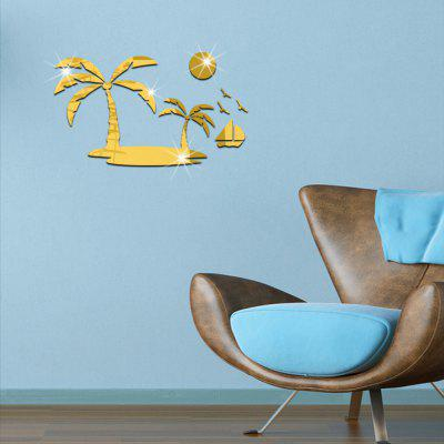 3D Acrylic Coconut Palm Style Mirror Wall StickerWall Stickers<br>3D Acrylic Coconut Palm Style Mirror Wall Sticker<br><br>Art Style: Plane Wall Stickers<br>Function: Decorative Wall Sticker<br>Material: Acrylic<br>Package Contents: 1 x Wall Sticker<br>Package size (L x W x H): 53.00 x 33.00 x 3.00 cm / 20.87 x 12.99 x 1.18 inches<br>Package weight: 0.1200 kg<br>Product size (L x W x H): 50.00 x 30.00 x 0.20 cm / 19.69 x 11.81 x 0.08 inches<br>Product weight: 0.1000 kg<br>Quantity: 22pcs<br>Subjects: 3D,Mirror<br>Suitable Space: Bedroom,Boys Room,Girls Room,Kids Room,Living Room<br>Type: Mirror Wall Sticker