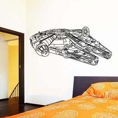 DSU Abstract Armor Design Wall Sticker