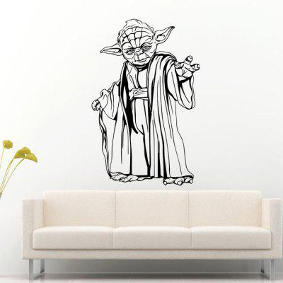 DSU Creative Cartoon Figure Wall Sticker WallpaperWall Stickers<br>DSU Creative Cartoon Figure Wall Sticker Wallpaper<br><br>Brand: DSU<br>Function: Decorative Wall Sticker<br>Material: Vinyl(PVC), Self-adhesive Plastic<br>Package Contents: 1 x Sticker<br>Package size (L x W x H): 60.00 x 6.00 x 6.00 cm / 23.62 x 2.36 x 2.36 inches<br>Package weight: 0.2300 kg<br>Product size (L x W x H): 58.00 x 89.00 x 0.10 cm / 22.83 x 35.04 x 0.04 inches<br>Product weight: 0.1600 kg<br>Quantity: 1<br>Subjects: Movie Star<br>Suitable Space: Bedroom,Dining Room,Hotel,Kids Room,Living Room<br>Type: Plane Wall Sticker