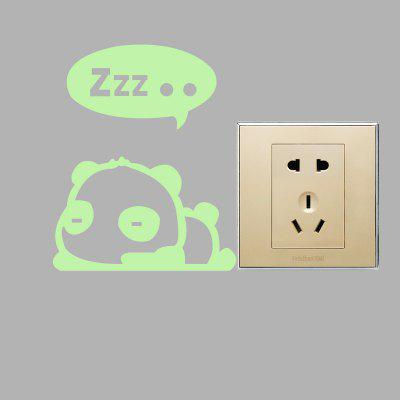 Fluorescence Sleeping Bear Luminous Switch Wall StickerWall Stickers<br>Fluorescence Sleeping Bear Luminous Switch Wall Sticker<br><br>Functions: Decorative Wall Stickers<br>Hang In/Stick On: Bathroom,Bedrooms,Kids Room,Kitchen,Living Rooms<br>Material: Self-adhesive Plastic, Vinyl(PVC)<br>Package Contents: 1 x Sticker<br>Package size (L x W x H): 12.00 x 6.00 x 6.00 cm / 4.72 x 2.36 x 2.36 inches<br>Package weight: 0.0240 kg<br>Product size (L x W x H): 10.00 x 12.50 x 0.10 cm / 3.94 x 4.92 x 0.04 inches<br>Product weight: 0.0030 kg