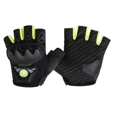 WOSAWE Pair of Half Finger Motorcycle Gloves