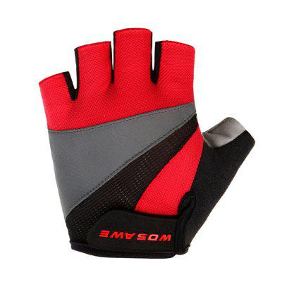 WOSAWE?BST - 008 - B ) Pair of Half-finger Cycling GlovesCycling Gloves<br>WOSAWE?BST - 008 - B ) Pair of Half-finger Cycling Gloves<br><br>Brand: WOSAWE<br>Package Contents: 1 x Pair of Gloves<br>Package size (L x W x H): 20.00 x 14.00 x 1.00 cm / 7.87 x 5.51 x 0.39 inches<br>Package weight: 0.0700 kg<br>Product weight: 0.0450 kg<br>Size: L