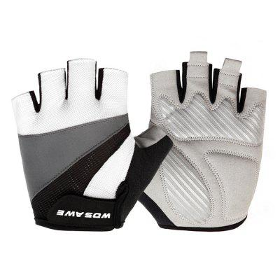 WOSAWE(BST - 008 - B ) Pair of Half-finger Cycling Gloves