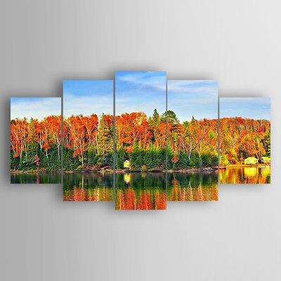 5PCS Print Landscape Wall Decor for Home Decoration