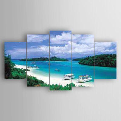 5PCS Seascape Wall Decor for Home Decoration
