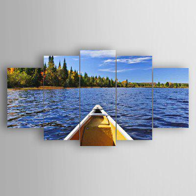 5PCS Waterscape Wall Decor for Home Decoration