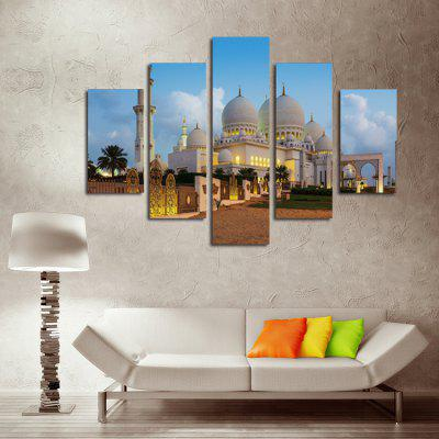 5PCS Print Taj Mahal Wall Decor for Home Decoration
