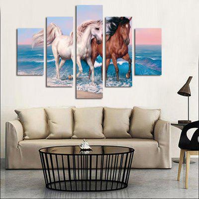 5PCS Print Horse Wall Decor for Home DecorationPrints<br>5PCS Print Horse Wall Decor for Home Decoration<br><br>Craft: Print<br>Form: Five Panels<br>Material: Canvas<br>Package Contents: 5 x Print<br>Package size (L x W x H): 42.00 x 6.00 x 6.00 cm / 16.54 x 2.36 x 2.36 inches<br>Package weight: 0.4500 kg<br>Painting: Without Inner Frame<br>Product size (L x W x H): 150.00 x 80.00 x 0.10 cm / 59.06 x 31.5 x 0.04 inches<br>Product weight: 0.3600 kg<br>Shape: Vertical<br>Style: Others<br>Subjects: Others<br>Suitable Space: Bedroom,Kids Room