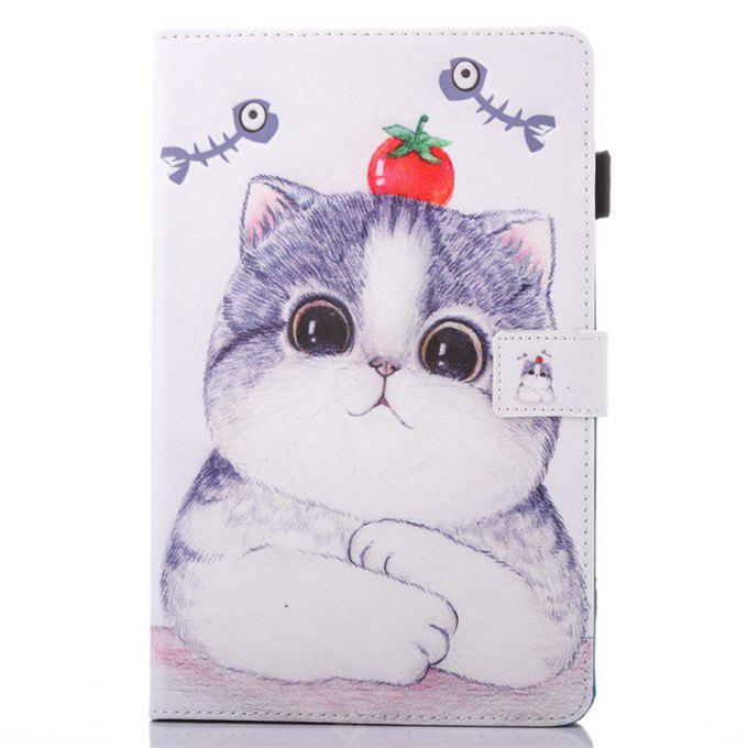 Design di Gatto del Fumetto Coperchio Custodia di Tablet per Samsung Tablet T560