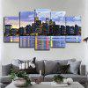 5PCS Print Evening Scene Wall Decor for Home Decoration - COLORMIX